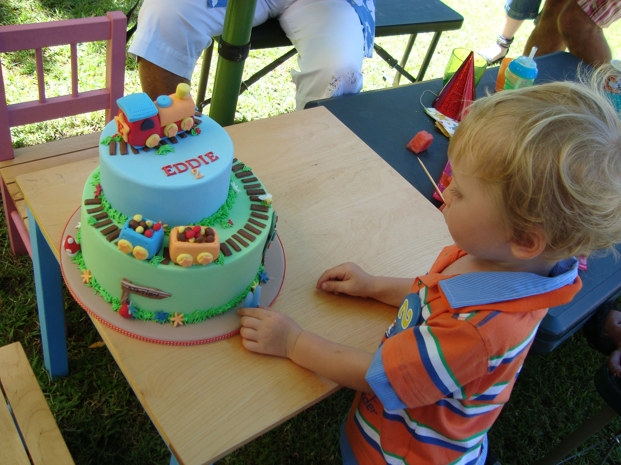 Cake Design For 3 Year Old Boy Perfectend for